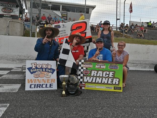 Daniel Hawn Sweeps the OSCAAR Pro Sprint Sunset Speedway